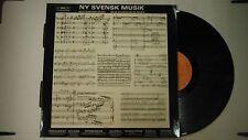 33 RPM Vinyl New Swedish Music NY Svensk Musik BIS Lp-32 B 111214KME