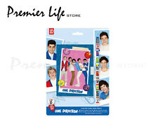ONE DIRECTION 1D SECRET DIARY WITH PADLOCK & KEYS PENCIL BOOKMARK GIFT SET NEW