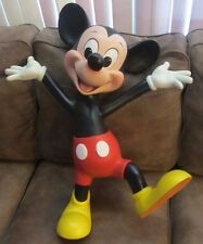 RARE Disney Store Display Prop Classic Mickey Mouse Dancing Happy Figure Statue