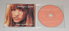 Single CD Britney Spears - Baby one more Time  3.Tracks  1998  Rar 152 Single 1
