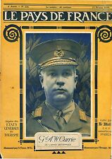 Portrait General Sir Arthur William Currie British Army England UK 1919 WWI