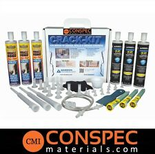 ATC CRACK-KIT Epoxy Injection Concrete Crack Fix Repair Kit Wall Floor Patching