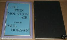 1977 Fine 1st edition in dust jacket of The Thin Mountain Air by Paul Horgan