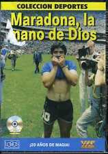 DIEGO MARADONA La Mano de Dios NEW DVD Football Colleccion Deportes  A
