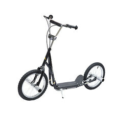 Homcom adult teen push scooter enfants stunt scooter vélo ride on