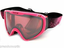BOLLE small fit EXPLORER OTG ski snow Goggles Shiny Pink/ Vermillon Gun 21378