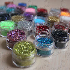 PICK YOUR COLOUR - 5g Pot NSI Acrylic Powder Glitter Mix Nail Art Pre-Mixed