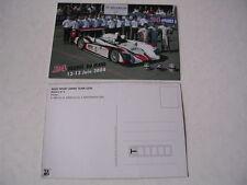 24 heures du Mans 2004 carte AUDI R8 n°5 Kristensen team Audi Sport Japan Team