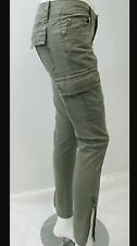 Miss Me Cargo Jeans Skinny CP1246A SZ 27x30 Military MSRP $89 Color Olive Green