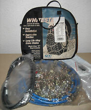 Whitestar Alloy Tire Snow Chains, Stock # WS1707, Never Used