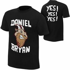 Daniel Bryan 'Goat Face' WWE Authentic Black Shirt ~ Men's XXL 2XL ~ Yes Towel