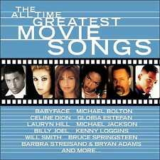 ALL TIME GREATEST MOVIE SONGS / VARIOUS (CD) sealed