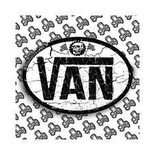 Vans pegatina Van Camper T4 T5 Retro Old School Vintage, Auto Adhesivo De Vinilo, Nuevo