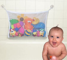 NEW Baby Bathroom Mesh Bag Kid Bath Toy Storage Net Suction Cup Baskets HOT WDS