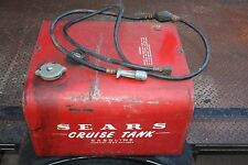 VINTAGE SEARS CRUISE 12 GALLON GAS TANK FOR OUTBOARD MOTOR RARE FIND