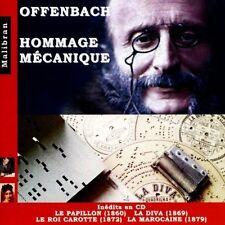 Mechanical Pianos - Offenbach: Homage Mecanique - Le Papillon La Diva [New CD] U