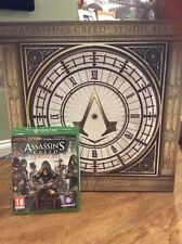 Assassin's creed Syndicate Big Ben Collector Edition XBOX ONE NEW FREE SHIPPING