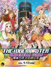 DVD The IDOLM@STER Cinderella Girls ( Idolmaster ) English Subs + Free 1 Anime