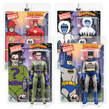 Super Friends Retro Mego Style Action Figures Series 3: Set of all 4 by FTC