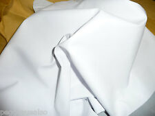"Leather 8""x10"" Thin White Garment PLONGE 1.75oz/.7 mm Cowhide PeggySueAlso"