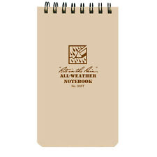 "Rite in the Rain 3x5"" Universal All Weather Notepad Tan RR935T"