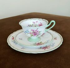 NEW PRICE Shelley  China Stocks 13512 Trio. Cup, saucer,  8 inch plate
