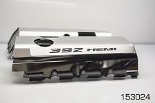 "SRT & SRT8 392 6.4L Polished Fuel Rail Covers with ""392 HEMI"" Lettering"
