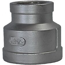 "3/4"" X 1/2"" BSPP Reducing Socket F/F 316 Stainless Steel 150LB Pipe Fitting"