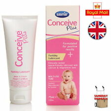New Sasmar Conceive Plus Fertility Lubricant Sperm Friendly 75ml Brand New UK