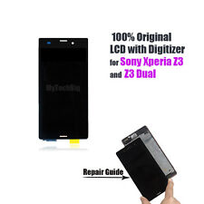 Original LCD Touch Screen Digitizer Assembly For Sony Xperia Z3 & Z3 Dual D6603