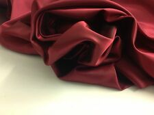 "Beautiful Superior Silky  Shot Marooney/Red Silky Lining Fabric 56""143cm Cloth"
