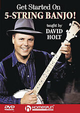 Get Started On 5 String Banjo DVD Learn To Play BEGINNER Lesson CHORDS LESSON