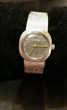RARE 14k Solid Gold Bulova Accutron Women's  Watch 2301, 13 jewels unadjusted