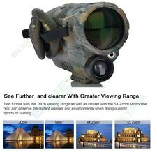 5x40 Infrared IR Digital Night Vision Video Camera Monocular Scope 8GB GEN1 NVG
