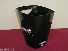Rare SEAU A GLACE whisky JACK DANIEL'S + Coca Cola / COLLECTABLE ice bucket !!