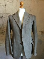Vintage 1930's 40's Style Three 3 Piece Bespoke Tweed Suit Size 40