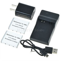 2X NB-6L Battery and Charger Kit for CANON PowerShot SX280 HS/SX260 HS/SX170 IS