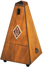 Wittner Wood Key Wound Metronome High Gloss Walnut Finish #803