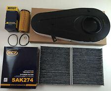 Filtre à huile étalon + filtre à air 2x Filtre à charbon actif sct GERMANY BMW 5er f10 7er f01