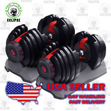 Pair of Bowflex Selecttech 552 Adjustable Dumbbells