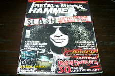 METAL HAMMER MAGAZINE 4/2010 SLASH AVANTASIA IRON MAIDEN TRIPTYKON 1BURZUM1