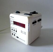 RARE COLLECTIBLE TOZAI Cube AM/FM Alarm Clock Radio Model ATC-628A