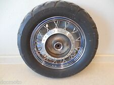 03 Honda Shadow Spirit VT750 DC Rear Back Wheel Spoke Rim w Good 160/80-15 Tire