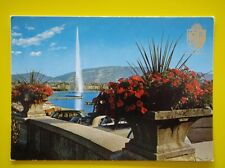 3009 GENEVE - THE WATERJET - POSTCARD