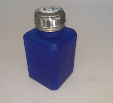 MENDA PURE-TOUCH BLUE FROSTED GLASS PUMP BOTTLE 6 OZ SB10710