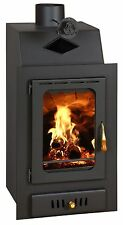 Inset Insert MultiFuel Built in Wood Burning Fireplace Stove Prity VM W15