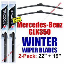 WINTER Wiper Blades 2pk Premium - fit 2010-2015 Mercedes-Benz GLK350 - 35220/190