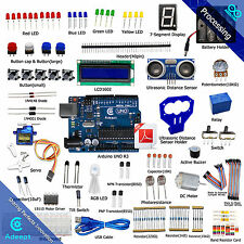 Adeept New Ultrasonic Distance Sensor Starter Learning kit for Arduino UNO R3
