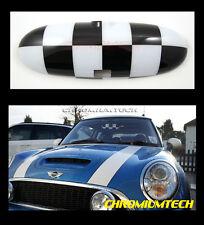 2000-2003 MINI Cooper/ Cooper S/ ONE Interior Rear View MIRROR Cover CHEQUERED