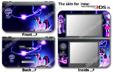 My Little Pony Twilight Sparkle Skin Sticker Cover Decal for NEW Nintendo 3DS XL